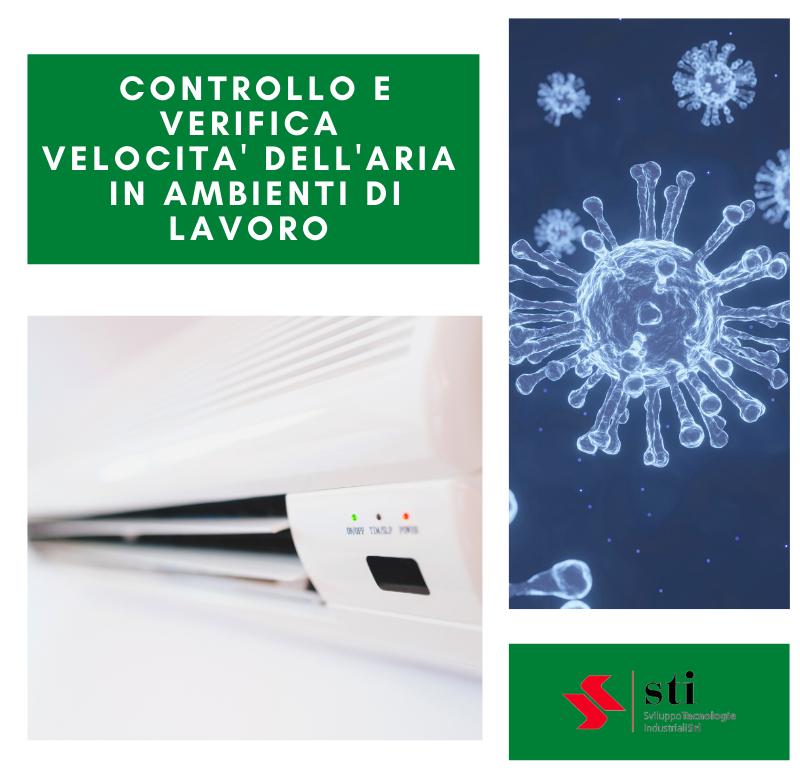 Servizio Controllo e Verifica Velocità dell'aria in ambienti di lavoro
